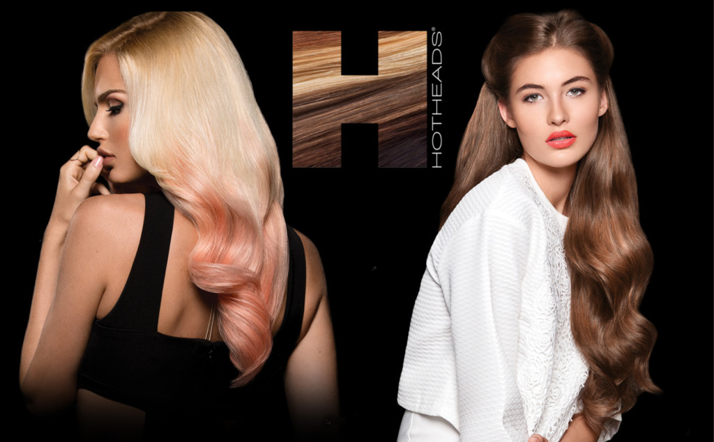 Hot Heads Hair Extensions Aqua Blue Salon